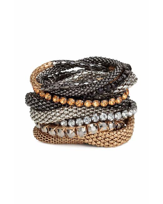 H&M   Multicolor 9-pack Bracelets   Lyst