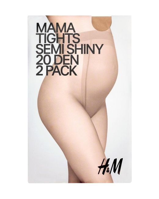 H&M | Natural Mama 2-pack Tights | Lyst