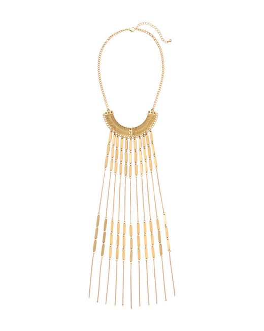 H&M | Metallic Necklace With Chains | Lyst