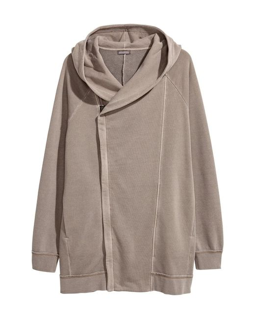 H&M | Multicolor Hooded Sweatshirt Cardigan | Lyst