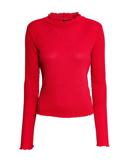 H&M | Red Rib-knit Jumper | Lyst