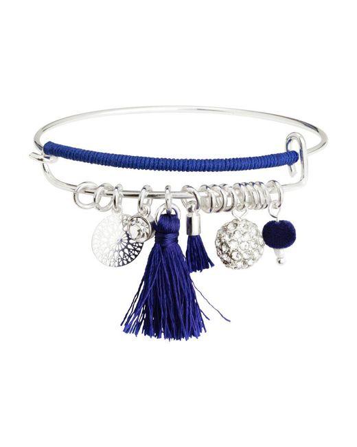 H&M - Blue Bangle - Lyst