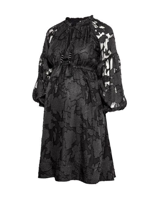 H&M | Black Mama Patterned Dress | Lyst