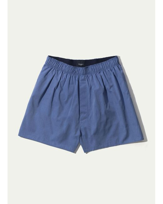 Hackett - Blue Classic Boxer Solid for Men - Lyst