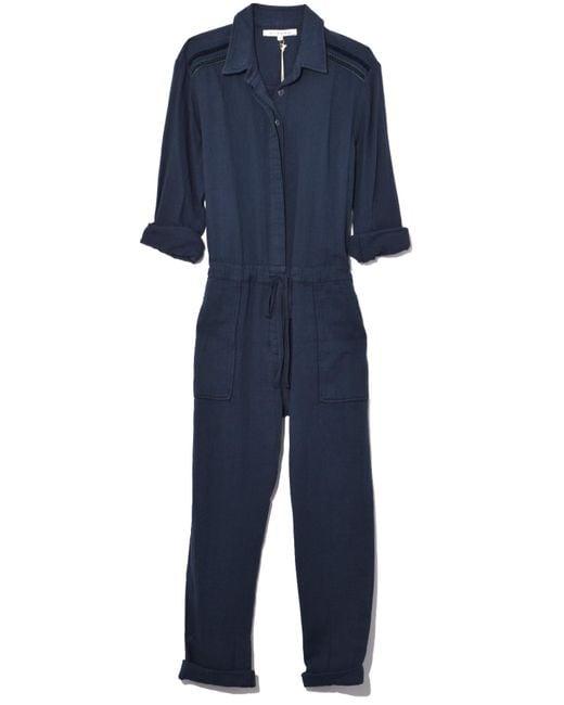 Xirena - Blue Truitt Jumpsuit In Indigo Stripe - Lyst
