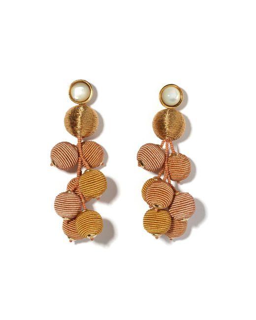Lizzie Fortunato   Metallic Meteor Earrings In Gold   Lyst