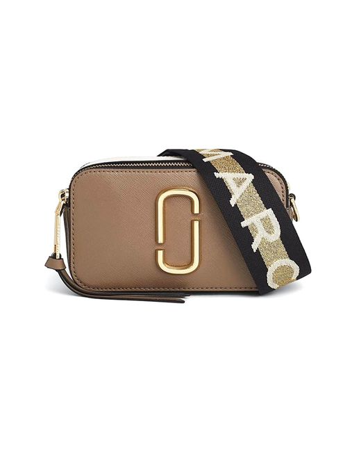 Marc Jacobs - Gray Snapshot Bag In French Grey Multi - Lyst