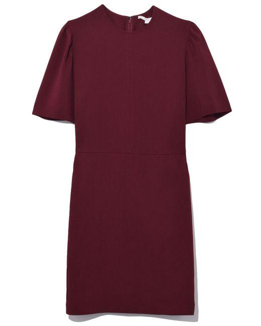 Stella McCartney - Purple Ariana Dress In Bordeaux - Lyst