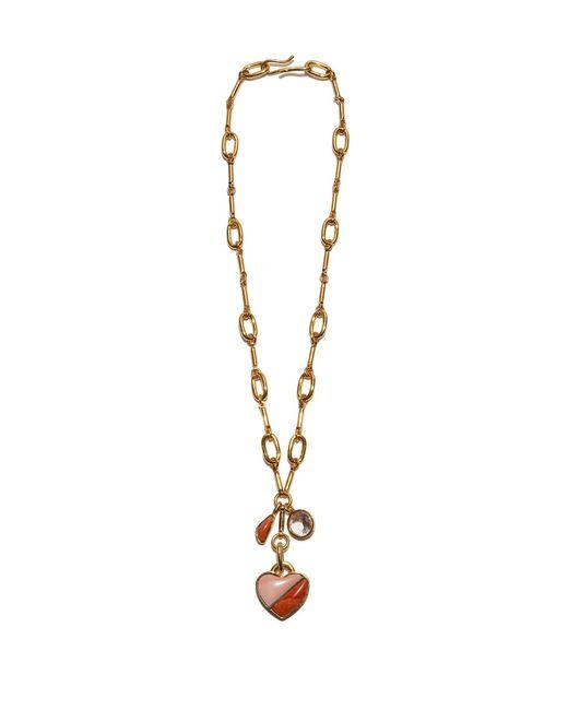 Lizzie Fortunato - Metallic Honeymoon Charm Necklace - Lyst