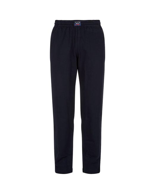 Paul & Shark | Blue Straight Leg Sweatpants for Men | Lyst