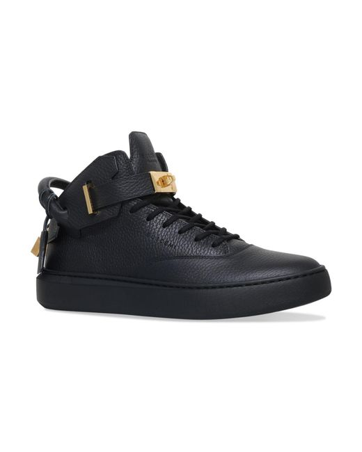 Buscemi - Black Handle Mid-top Sneakers for Men - Lyst