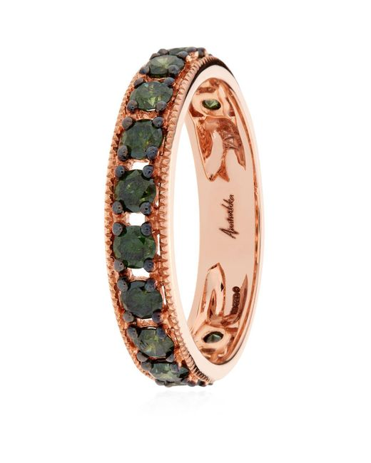 Annoushka - Pink Dusty Diamond Eternity Ring - Lyst
