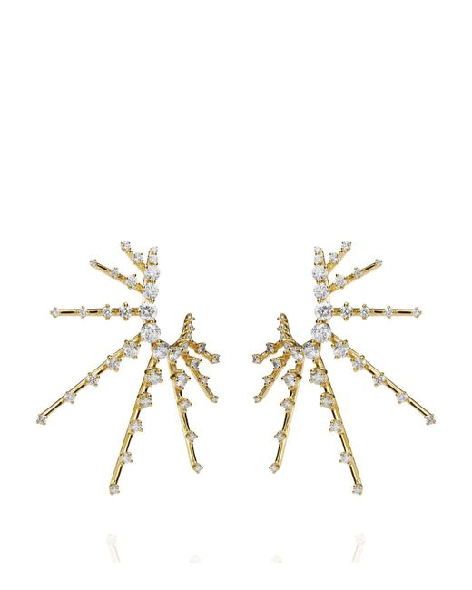 Fernando Jorge | White Radiant Spike Earrings | Lyst