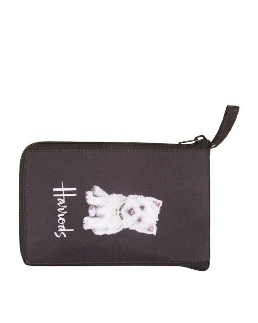 Harrods - Black Westie Puppy Pocket Shopper - Lyst