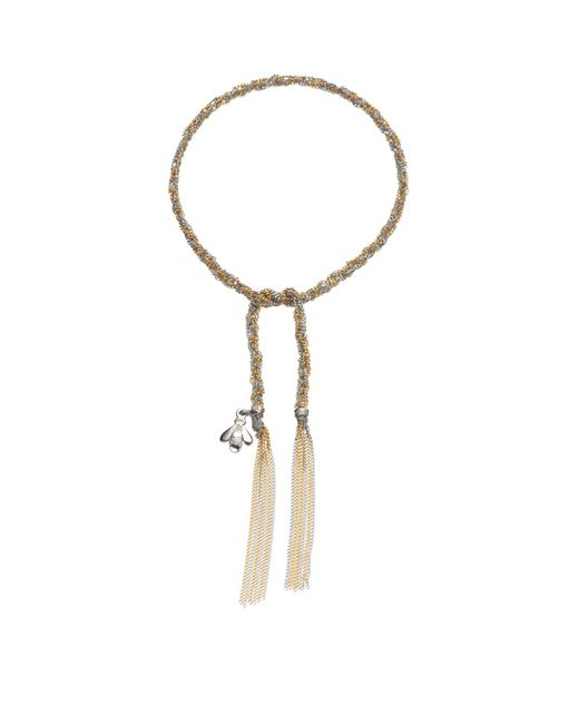 Carolina Bucci - Metallic Virtue Charm Lucky Bracelet - Lyst