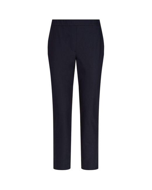 Theory - Blue Thaniel Straight Leg Trousers - Lyst