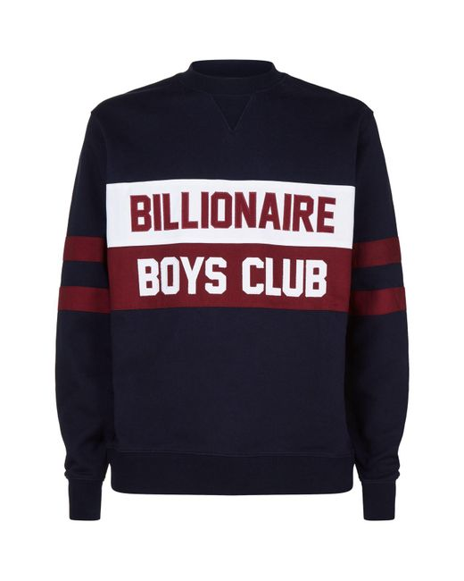 BBCICECREAM - Blue Varsity Logo Sweatshirt for Men - Lyst