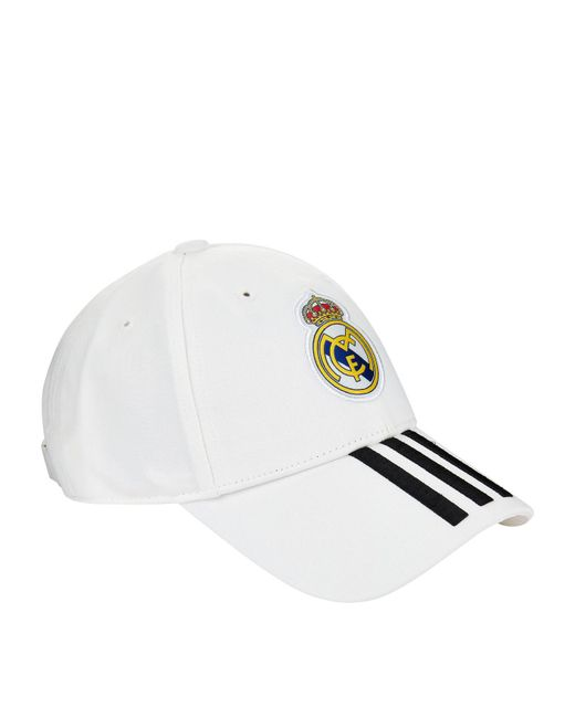 ae0a824eb14 Lyst - adidas Real Madrid Cap in White for Men
