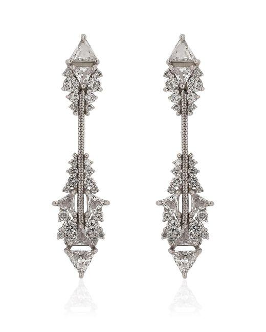 Fernando Jorge | White Fusion Short Arrow Earrings | Lyst