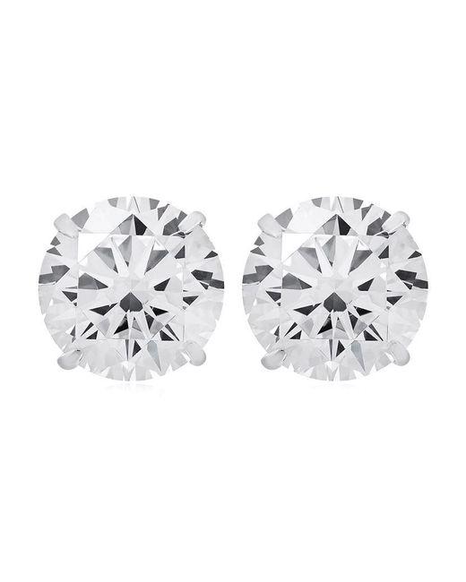 Carat* | Metallic 2ct Eternal Stud Earrings | Lyst