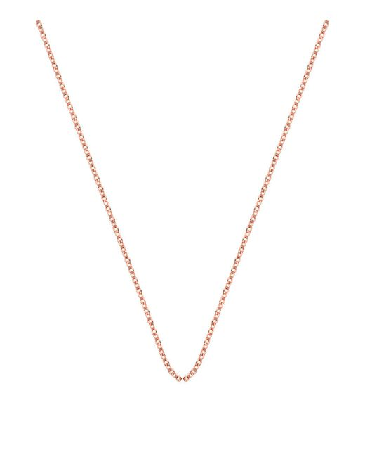 Monica Vinader | Pink Adjustable Rolo Chain (32) | Lyst