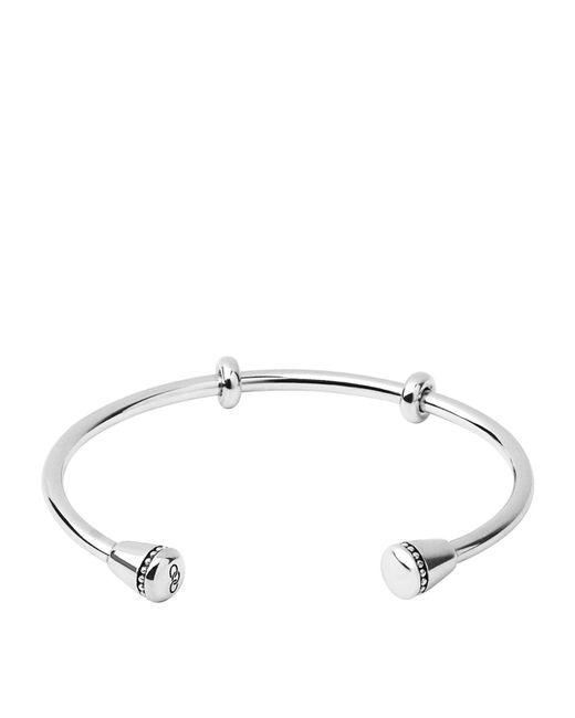 Links of London - Metallic Narrative Cuff Bracelet - Lyst