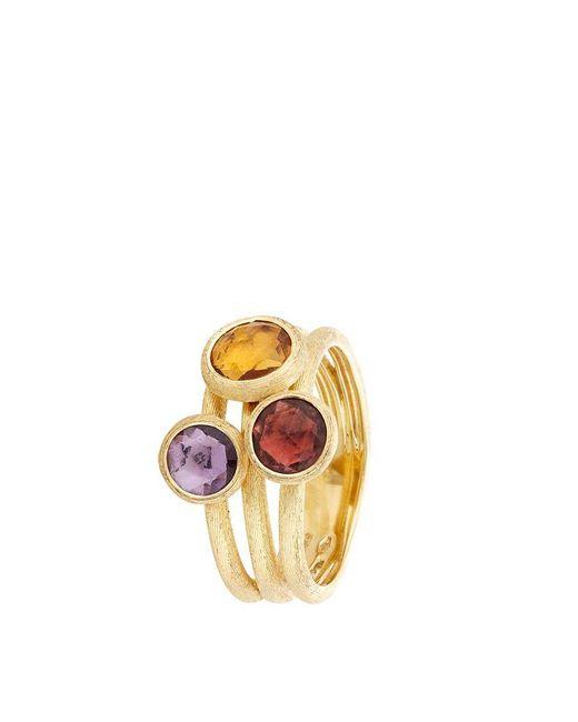 Marco Bicego | Metallic Jaipur Triple Stone Ring | Lyst