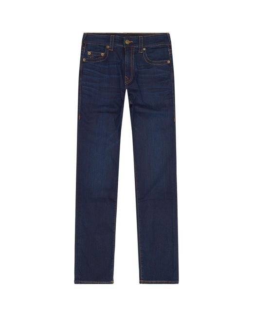 True Religion | Blue Jack Skinny Tapered Jeans for Men | Lyst