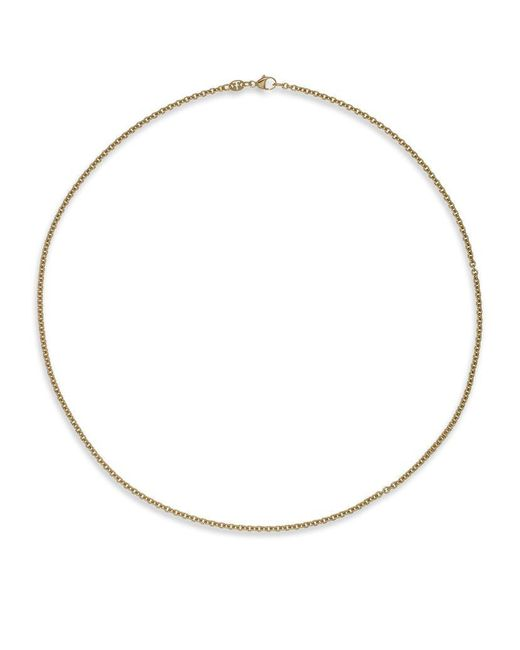 Theo Fennell | Metallic Yellow Gold Small Oval Belcher Chain | Lyst