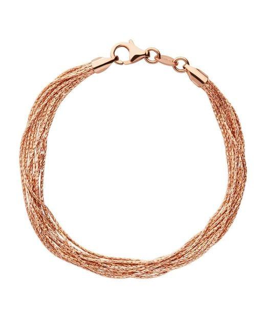 Links of London - Metallic Silk 10 Row Bracelet - Lyst