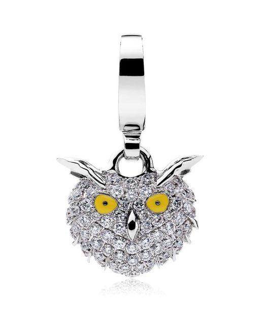 Theo Fennell | White Snowy Owl Charm | Lyst