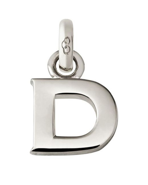 Links of London - Metallic Sterling Silver Alphabet Charm - Lyst