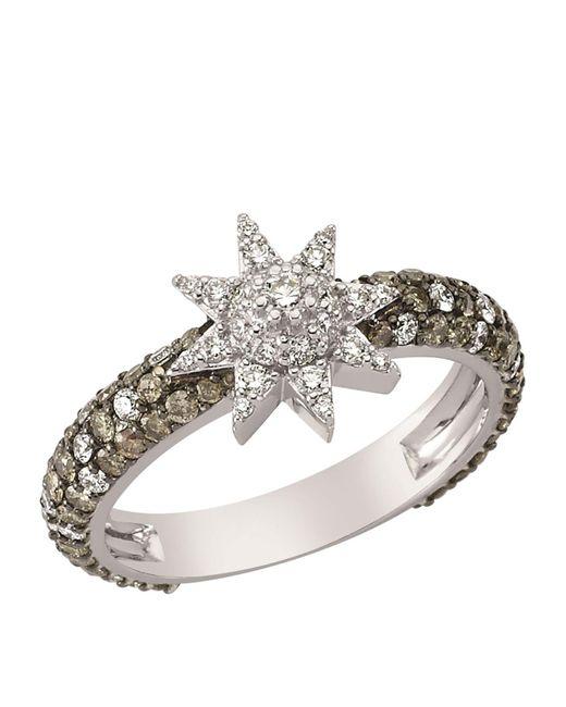 Bee Goddess | Brown Venus Star Diamond Ring | Lyst