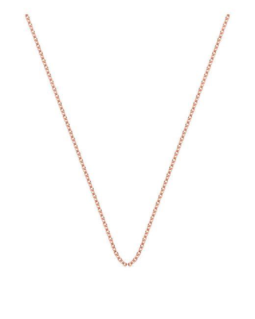 Monica Vinader - Pink Adjustable Rolo Chain (24) - Lyst