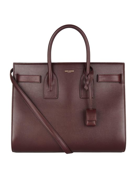 Saint Laurent - Multicolor Medium Smooth Leather Sac De Jour Tote - Lyst