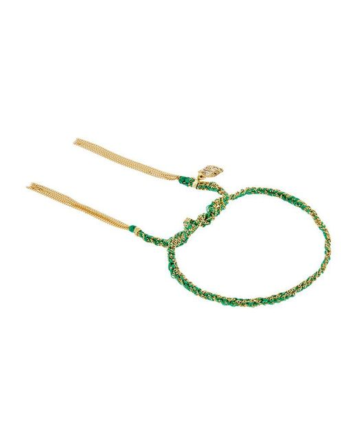 Carolina Bucci | Green Emerald Charm Lucky Bracelet Gold | Lyst
