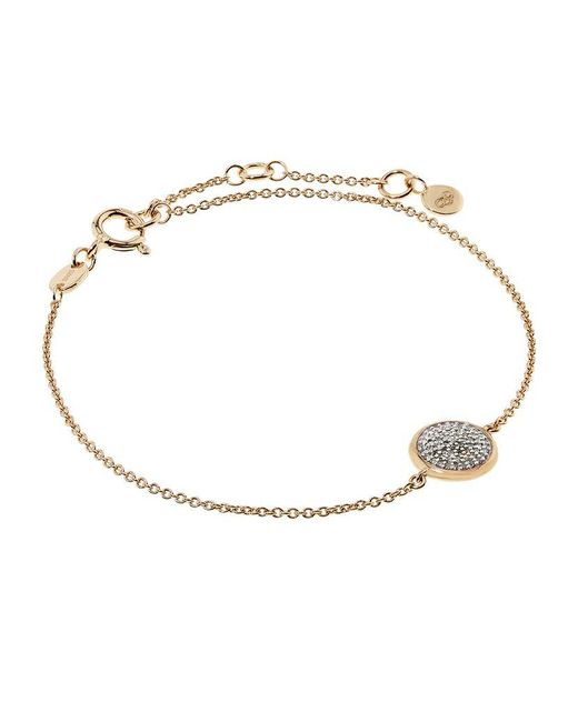 Links of London | Yellow Diamond Essentials Pave Round Bracelet | Lyst