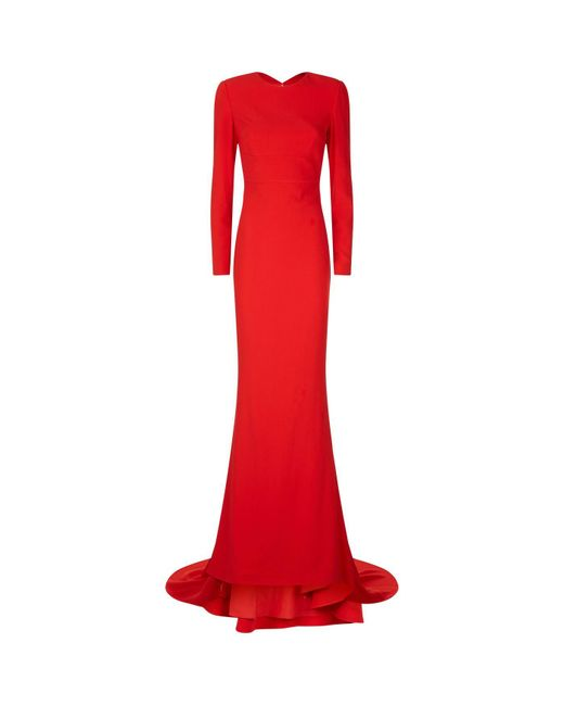 e8928667dc5 Lyst - Stella McCartney Ruby Gown in Red