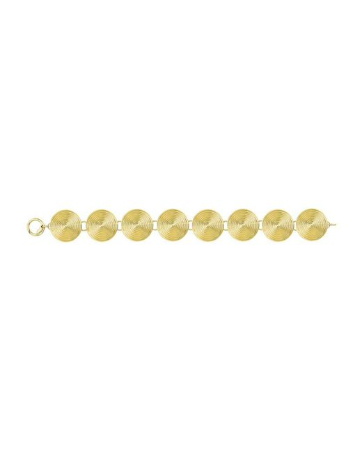 Theo Fennell | Yellow Gold Whip Disc Bracelet | Lyst