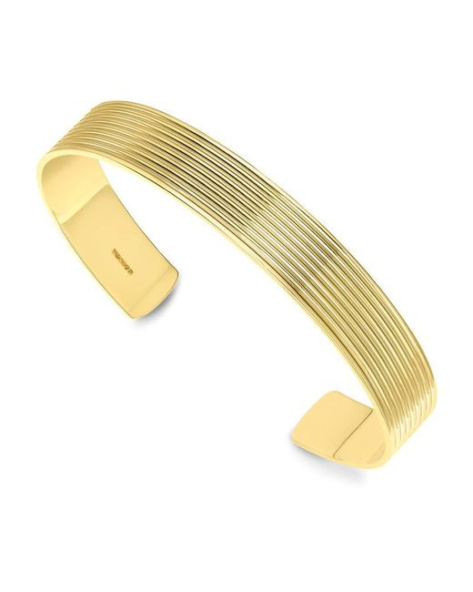 Theo Fennell | Metallic Gold Whip Men's Torque Bangle for Men | Lyst