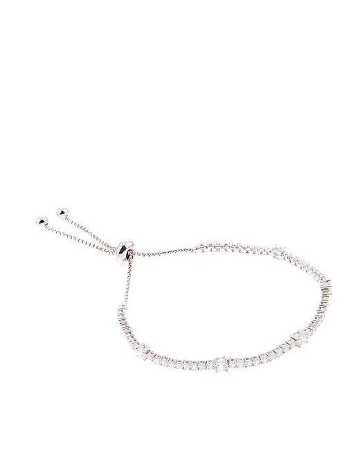 Carat* | Metallic Phoebe Millennium White Gold Bracelet | Lyst