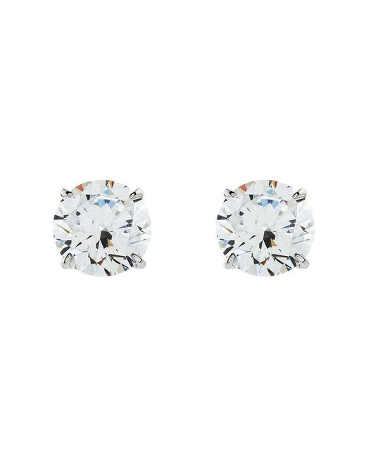 Carat* | Metallic 1.5ct Round Stud Earrings | Lyst