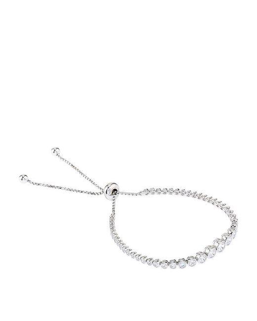 Carat* | Metallic Grace Millennium Silver Bracelet | Lyst