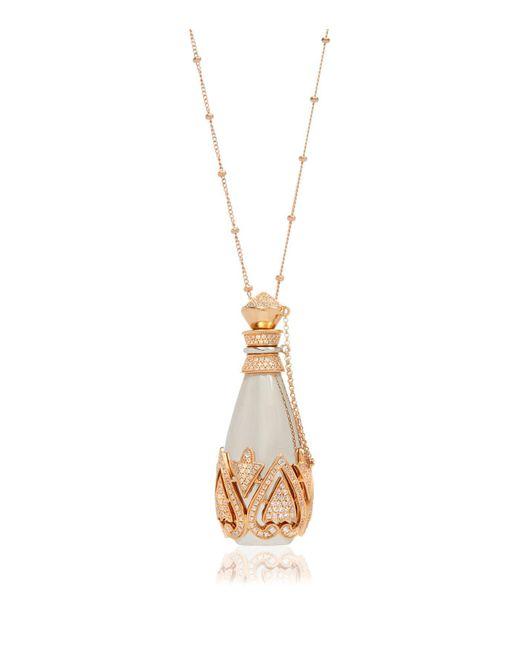 Annoushka   Metallic Perfume Bottle Pendant Necklace   Lyst