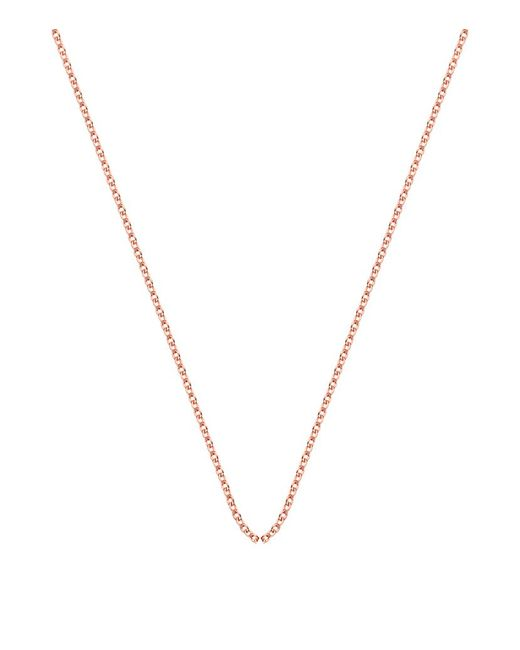 Monica Vinader | Metallic Adjustable Rolo Chain (24) | Lyst