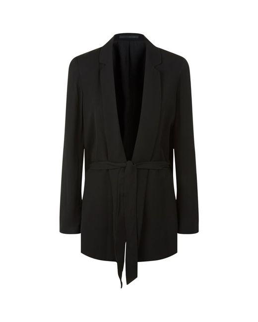 AllSaints   Black Roya Split Blazer   Lyst