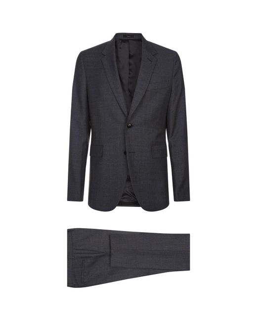 Paul Smith - Gray Soho Slim-fit Wool Two-piece Suit for Men - Lyst