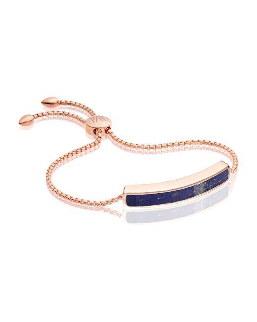 Monica Vinader | Blue Baja Chain Bracelet | Lyst