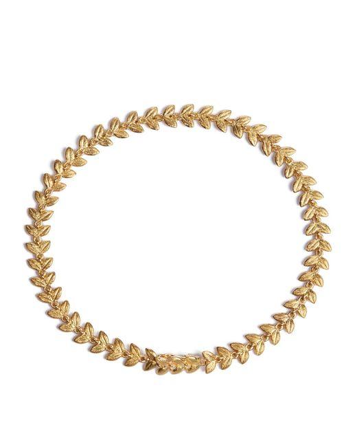 Annoushka | Metallic Yellow Gold Vine Bracelet | Lyst