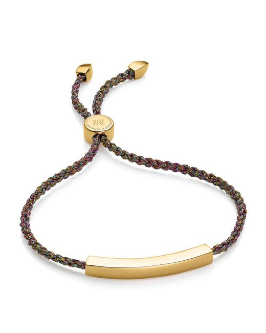 Monica Vinader | Rainbow Metallica Linear Friendship Bracelet | Lyst